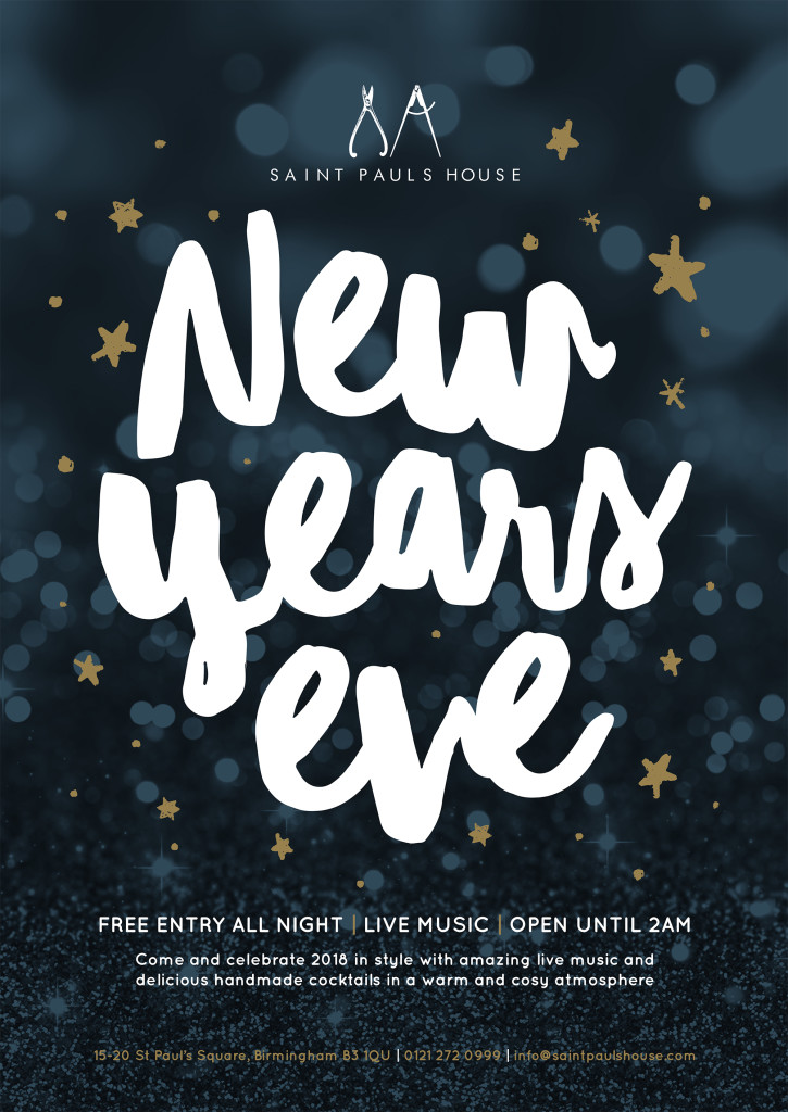 New Years Eve at Saint Pauls House, Birmingham