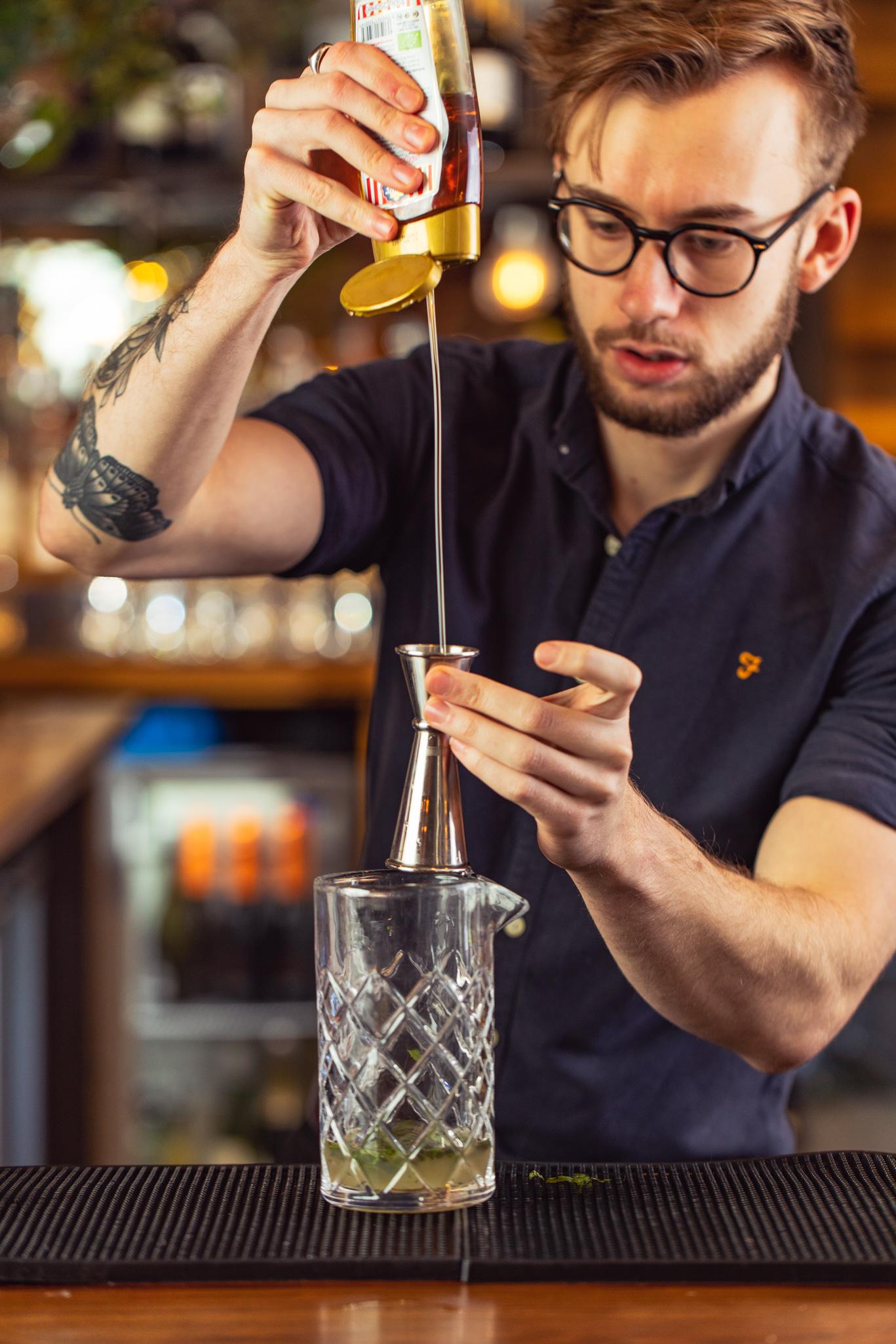 Bespoke cocktails made