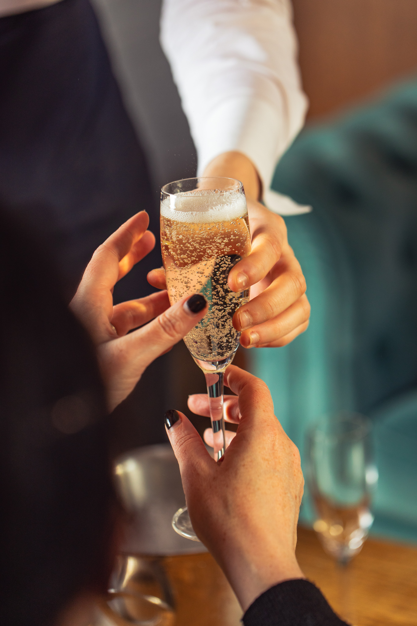 Cheers to your event at Saint Pauls