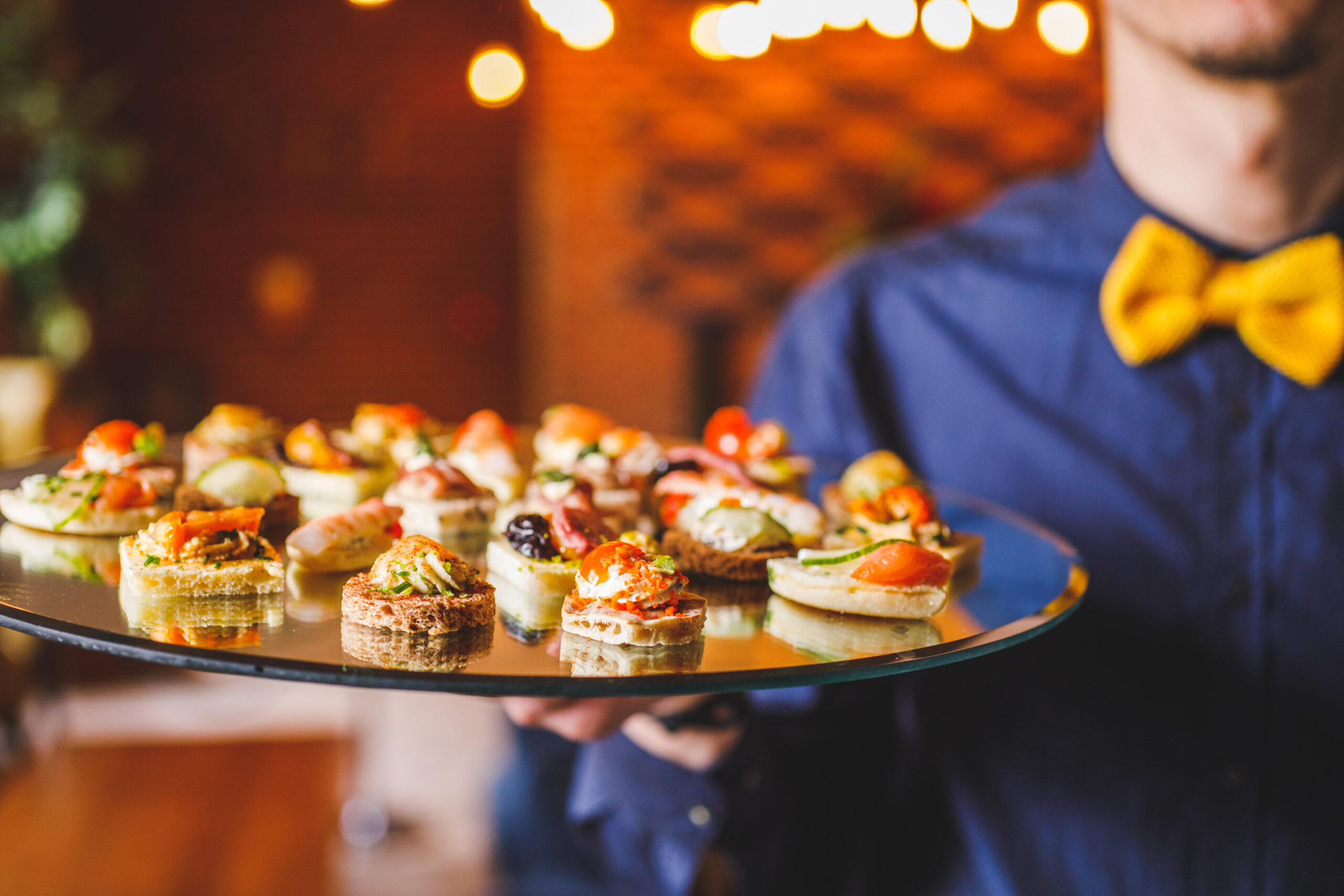 Canapés for your event